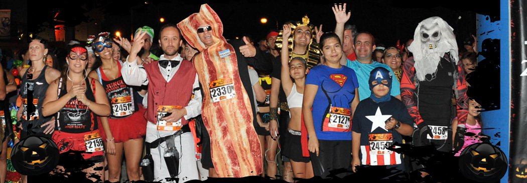 The Halloween Half Marathon has an event and distance for everyone. The Halloween Half Marathon has events in Atlanta, Key West, Miami, NC, Petersburg.